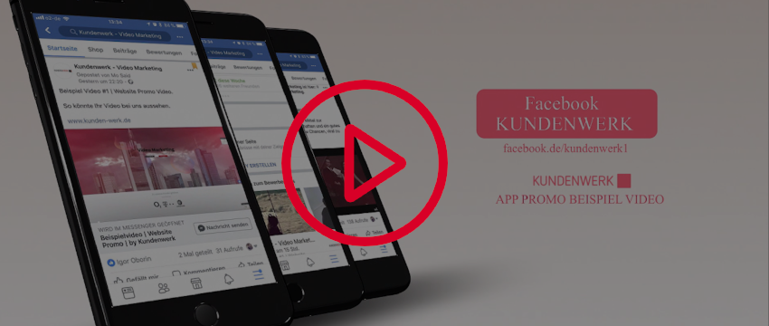 Beispiel Video App Promo Kundenwerk